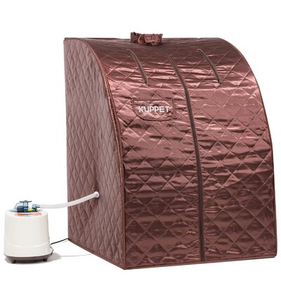Portable Folding 1 Person Traditional Steam Sauna KUPPET