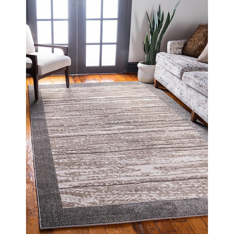 Rugpal Veranda Beige Light Brown Indoor Outdoor Area Rug Wayfair