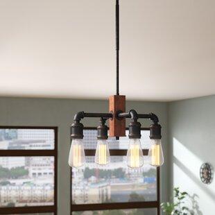 Trent Austin Design Davidson 4-Light LED Candle Style Chandelier