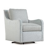 Koko 29 W Polyester Blend Swivel Down Cushion Armchair by Braxton Culler
