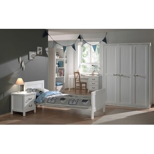 Free S&H Aldrich 5 Piece Bedroom Set