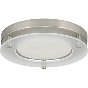 Check Prices Philllip 1-Light Flush Mount By Red Barrel Studio