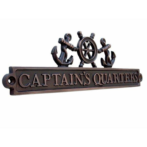 "Rum Locker Door Sign Plaque Sign Brass Nautical Boat Ship Bar Decor 7.5/""W"