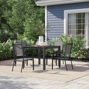 Ashwell 5 Piece Dining Set by Sol 72 Outd..