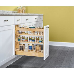 Charmant Wood Base Cabinet Pull Out Pantry