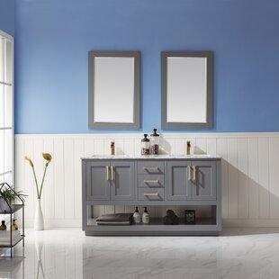 Cord 60 Double Bathroom Vanity Set with Mirror