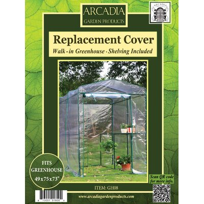 Greenhouse Replacement Cover Arcadia Garden Products