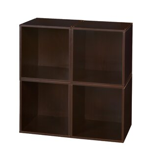 Castillo Cube Unit Bookcase (Set of 4) Rebrilliant