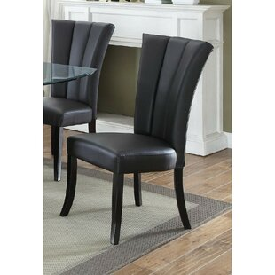 Kline Poplar Wood Upholstered Dining Chair (Set of 2)
