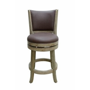Stoudt 24 Swivel Bar Stool by Darby Home Co