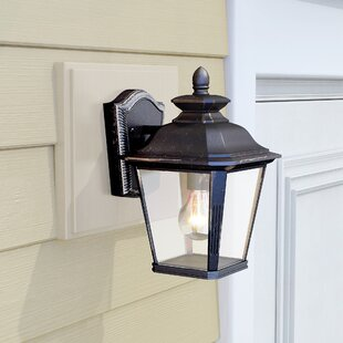 Sunbury 1-Light Outdoor Wall Lantern by Darby Home Co