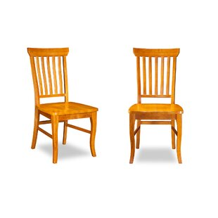 Oliver Solid Wood Dining Chair (Set of 2) DarHome Co