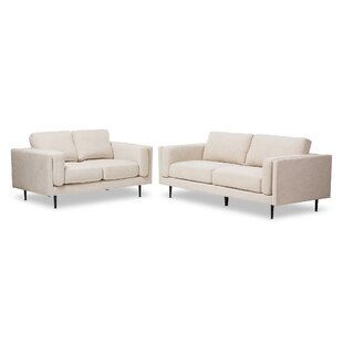 Brennan 2 Piece Living Room Set by Langley Street