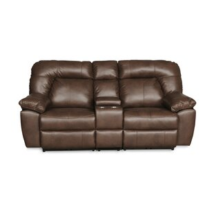 Darby Home Co Gary Console Reclining Loveseat