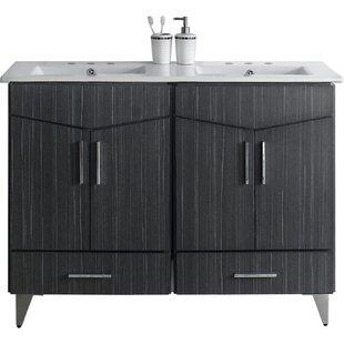 Keels 48 Double Bathroom Vanity Set by Orren Ellis