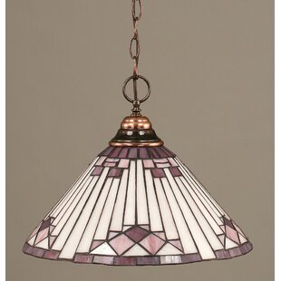 Chenut 1-Light Bowl Pendant by Red Barrel Studio