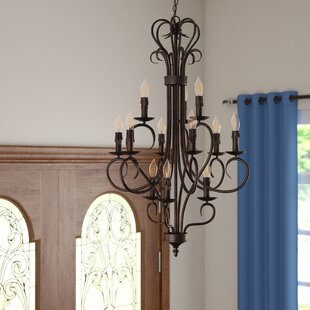 Three Posts Castine 12-Light Chandelier