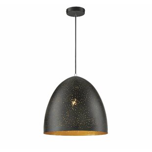 Ebern Designs Coury 1-Light Cone Pendant