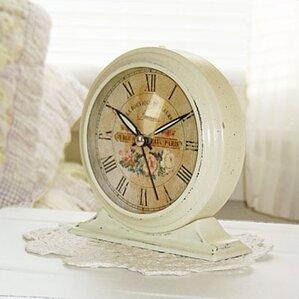 Boutique De Fleur Tabletop Clock