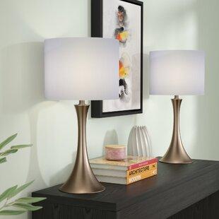 Zipcode Design Louis 2 Piece Table Lamp (Set of 2)