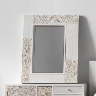 Mabel Wooden Rectangular Dresser Mirror By Fleur De Lis Living