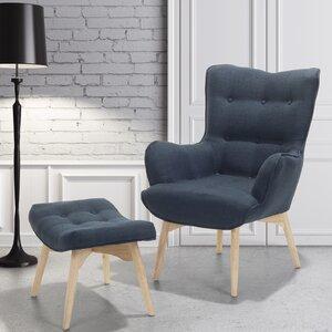 Sessel Veze mit Hocker von Corrigan Studio