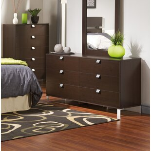 South Shore Spark 6 Drawer Double Dresser
