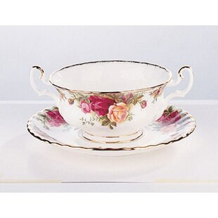 Old Country Roses 11 oz. Soup Cup Saucer