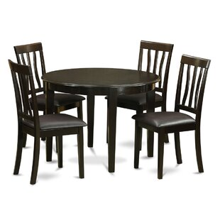 Boston 5 Piece Dining Set by Wooden Importers Cool