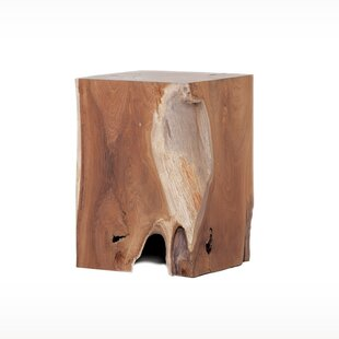 Big Save Rectangle Teak Stool By EQ3