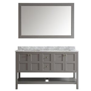 Double Bathroom Vanity Photos double vanities you'll love | wayfair