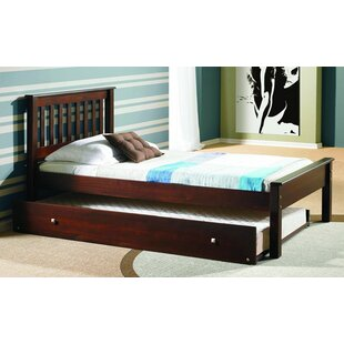 Best Deals Starr Hill Twin Slat Bed with Trundle by Harriet Bee Reviews (2019) & Buyer's Guide