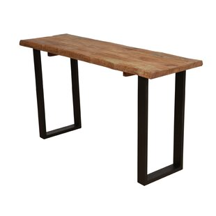 17 Stories Sia Live Edge Console Table