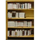 Open Back Single Standard Bookcase by W.C. Heller