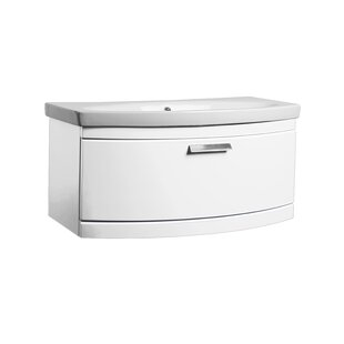 Gui 86cm Wall-Mounted Vanity Unit Base By Belfry Bathroom