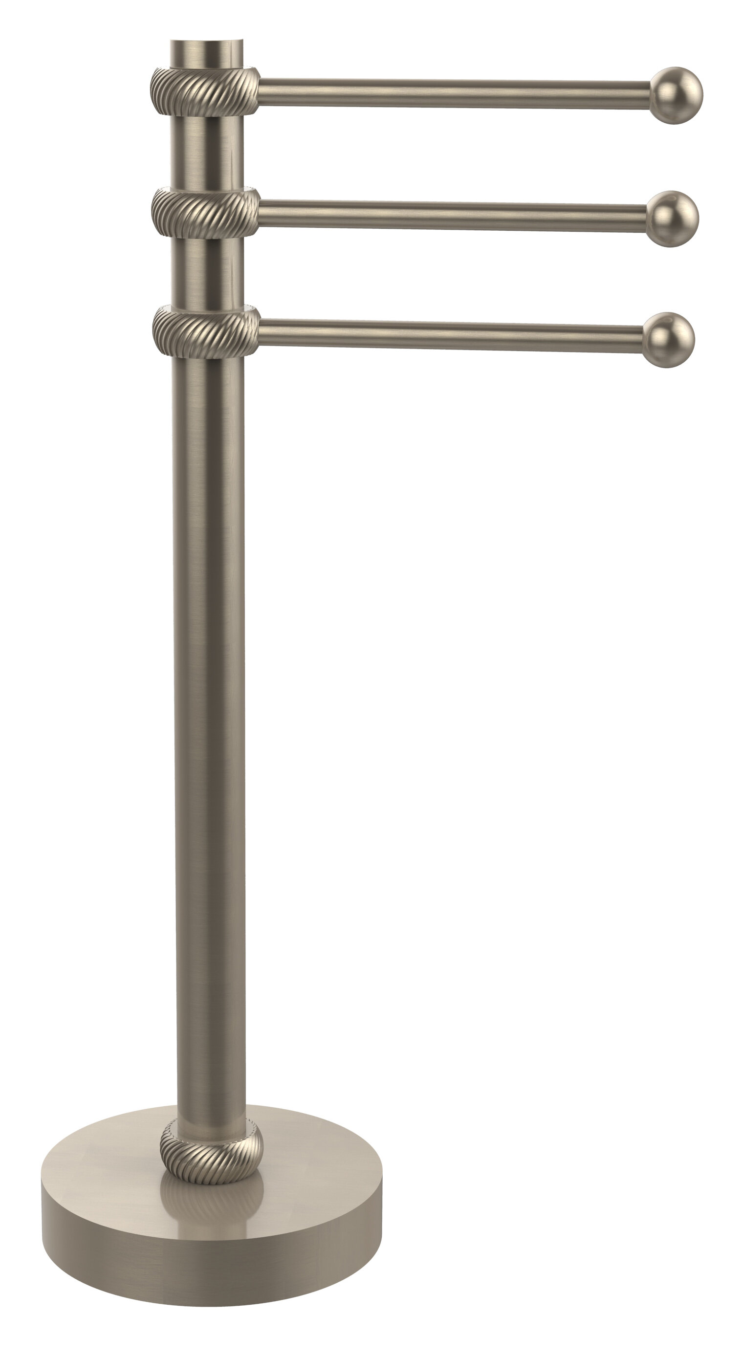 Wondrous 3 Swing Arm Countertop Towel Stand Home Interior And Landscaping Ologienasavecom