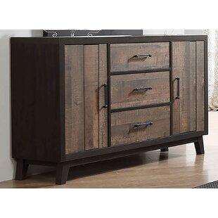 Merlene 3 Drawer Combo Dresser