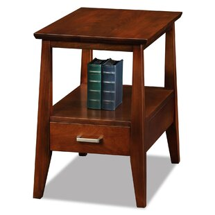 Hazleton Chairside Table by Alcott Hill