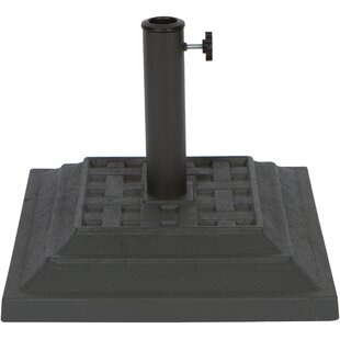 Jung Resin Square Free Standing Umbrella Base
