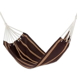 Sandy Path Hand-Woven Single Tree Hammock by Novica No Copoun
