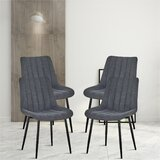 Sievers Upholstered Side Chair (Set of 4) by Millwood Pines