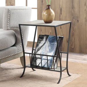 Camara End Table by Gracie Oaks