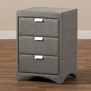 Sinead 3 Drawer Nightstand