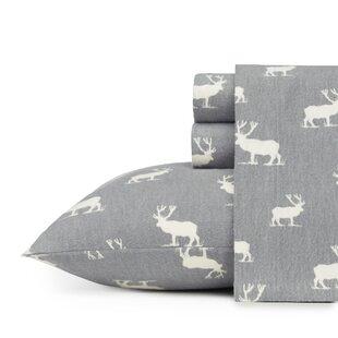 Elk Grove 100% Cotton Flannel Sheet Set by Eddie Bauer
