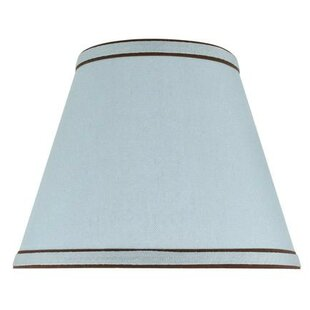 9 Faux Linen Textured Fabric Empire Lamp Shade