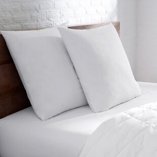 10/90 Goose Blend Sham Cotton Bed Pillow (Set of 2)