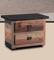Chiasson 2 Drawer Nightstand