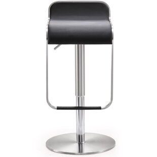 Hatchett Adjustable Height Swivel Bar Stool Orren Ellis