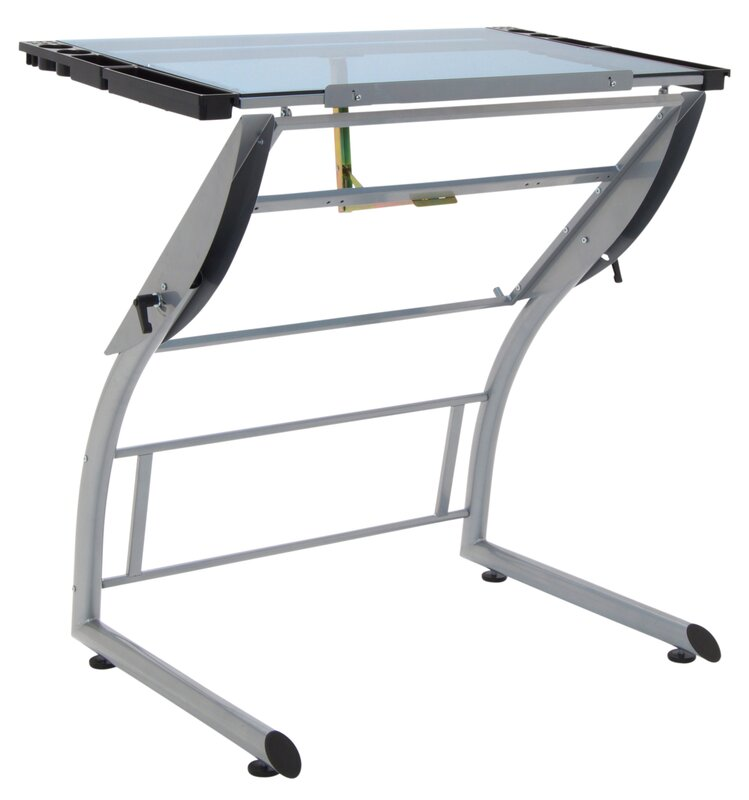 Default_name   Studio Designs Triflex Glass Drafting Table U0026 Reviews Wayfair