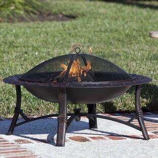 Fire Sense Roman Steel Wood Burning Fire ..